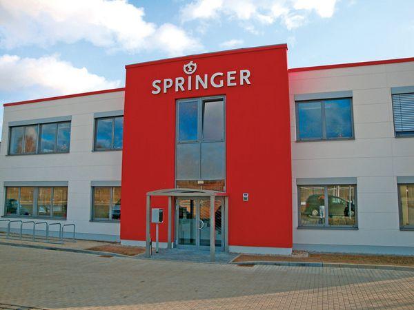 Gebäude SPRINGER